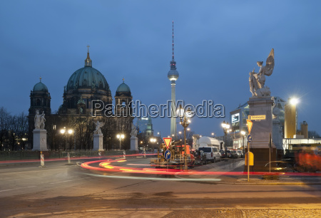 germany berlin berlin cathedral and television