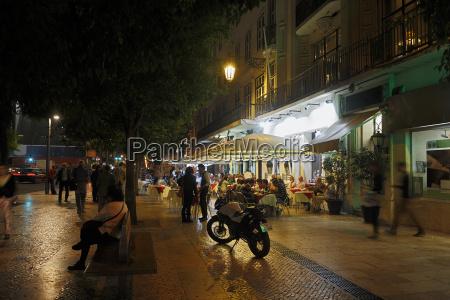 restaurant fahrt reisen stadt stadtleben nacht