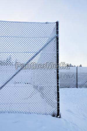 germany thurinigia oberhof mesh wire fence