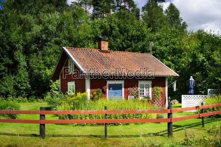 sweden smaland kalmar laen vimmerby summerhouse