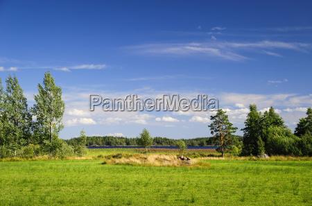 sweden smaland kalmar laen vimmerby landscape