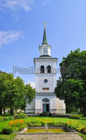sweden smaland vimmerby church