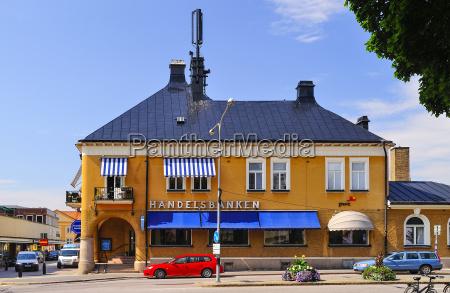 sweden smaland vimmerby bank