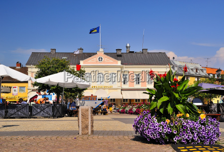 sweden smaland vimmerby hotel at town