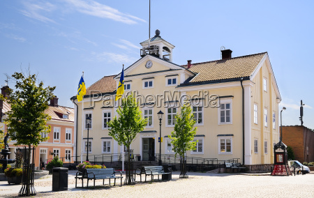 sweden smaland vimmerby former town hall