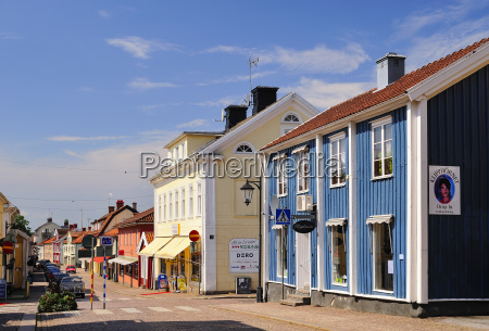 sweden smaland vimmerby view of town