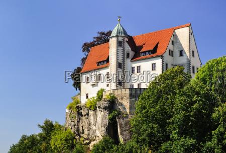 germany saxony hohnstein hohnstein castle