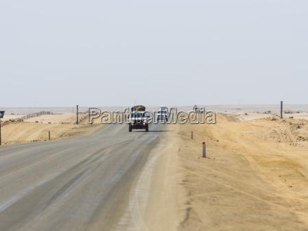 namibia erongo region cars driving on