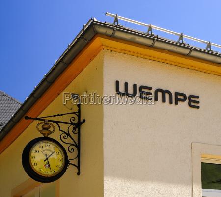 germany saxony glashuette company building wempe