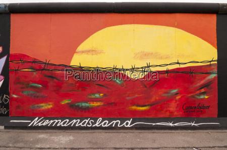 germany berlin mural painting of no