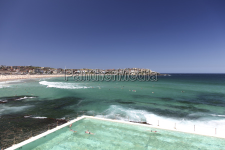 australien manly manly beach schwimmbad