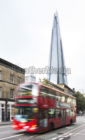 uk london blick auf den wolkenkratzer