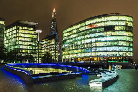 azul paseo viaje ciudad moderno edificio