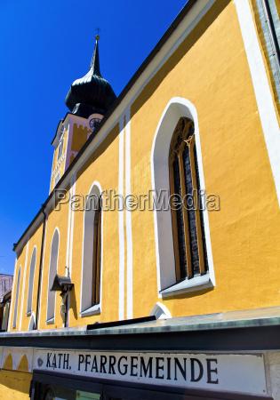 austria salzburg view of church