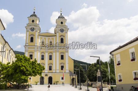 austria mondsee parish church st michael