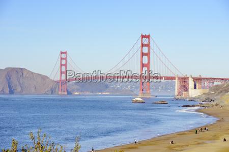usa california san francisco baker beach