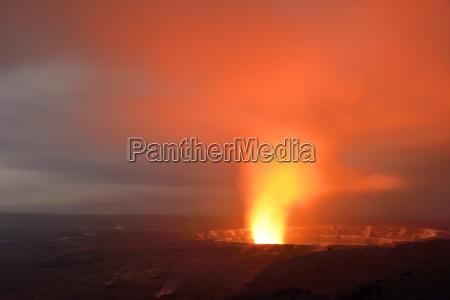 usa hawaii big island volcanoes national