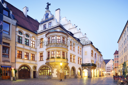 germany bavaria munich old town hofbraeuhaus