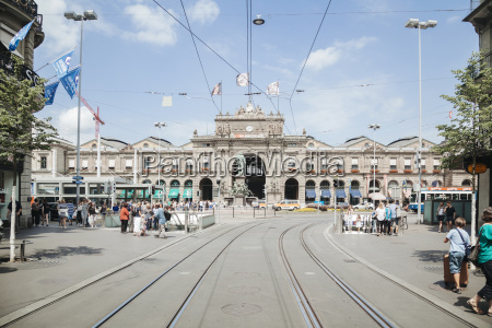 bahnhof station fahrt reisen wolke schiene