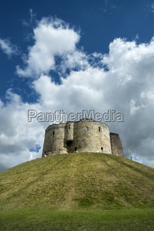 great britain england cliffords tower in