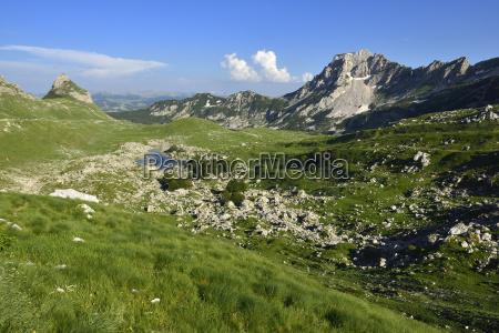 montenegro view of durmitor national park