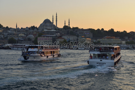 turkey istanbul view over golden horn