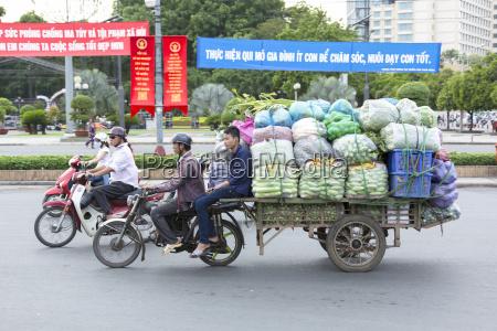 vietnam ho chi minh city steet