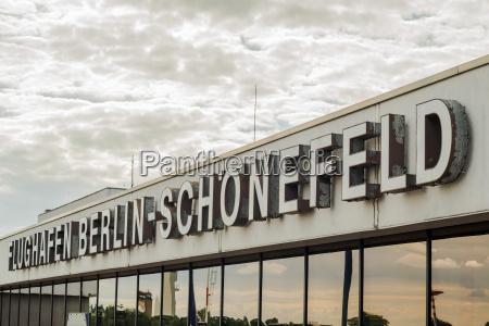 germany berlin view of berlin schonefeld