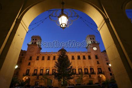 spain alicante town hall