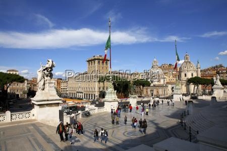 italien rom altare della patria