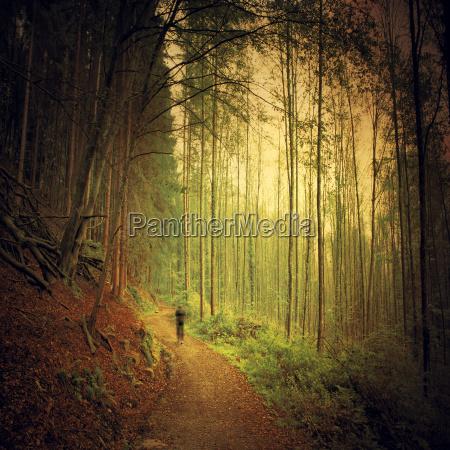 deutschland nordrhein westfalen bei solingen jogger
