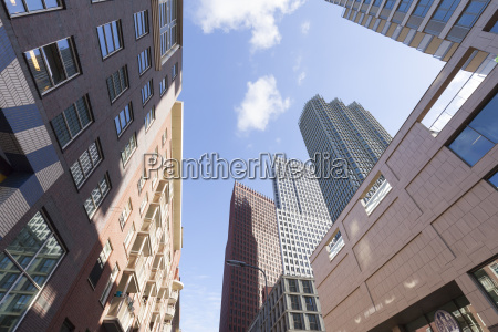 netherlands the hague office towers