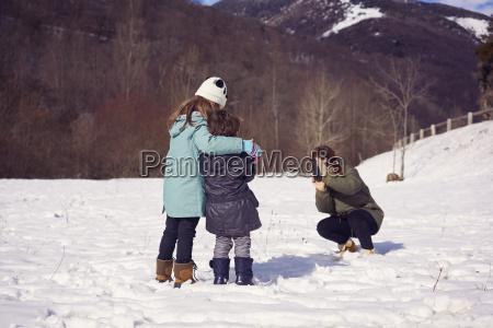 menschen leute personen mensch winter entspannt