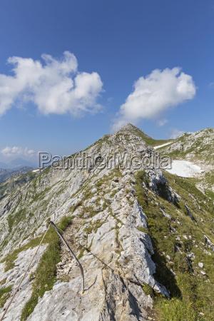 deutschland bayern blick auf ridge spaziergang