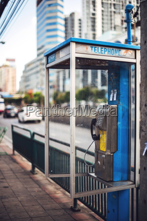 thailand bangkok dirty telephone boot
