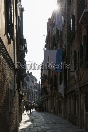 italy veneto venice alley