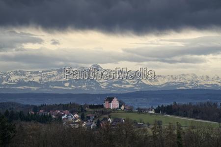 fahrt reisen baum alpen deutschland brd