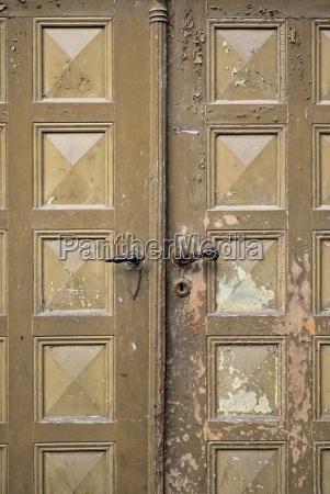 germany saxony meissen old entrance door