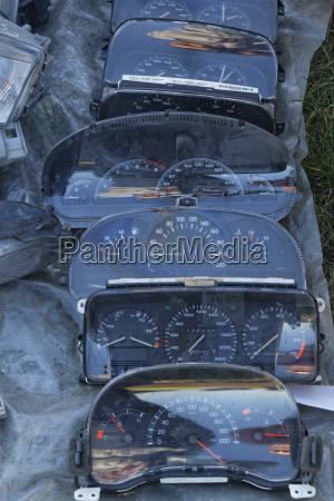 rumaenien crisana arad speedometer auf car
