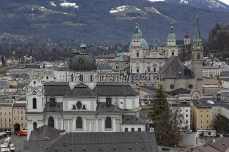 austria salzburg state salzburg old town