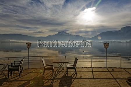 austria upper austria salzkammergut lake mondsee