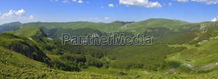 montenegro crna gora view over bjelasica
