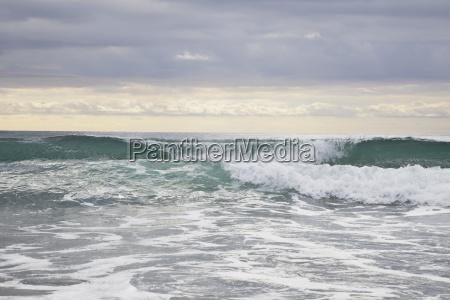 new zealand coromandel pacific ocean at