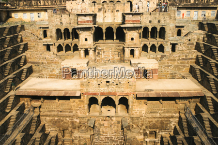 india rajasthan view to parched antique