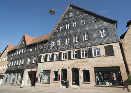germany bavaria fuerth houses in the