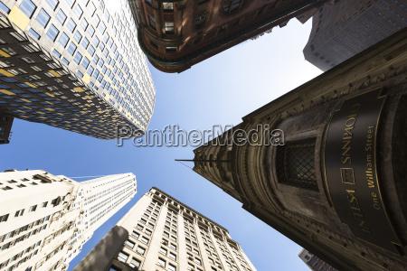 usa new york city manhattan financial