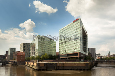 germany hamburg high rise office building