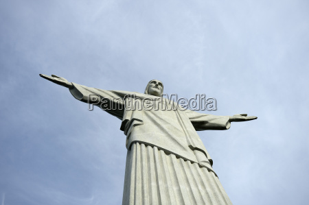 brazil rio de janeiro corcovado jesus