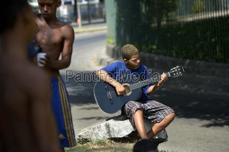 brazil rio de janeiro street boy