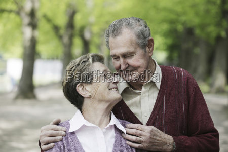 germany cologne senior couple looking at
